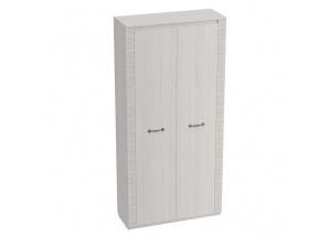 Шкаф двухдверный Элана белая глубиной 410 мм