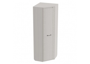 Шкаф угловой Элана белая (720х720 мм)