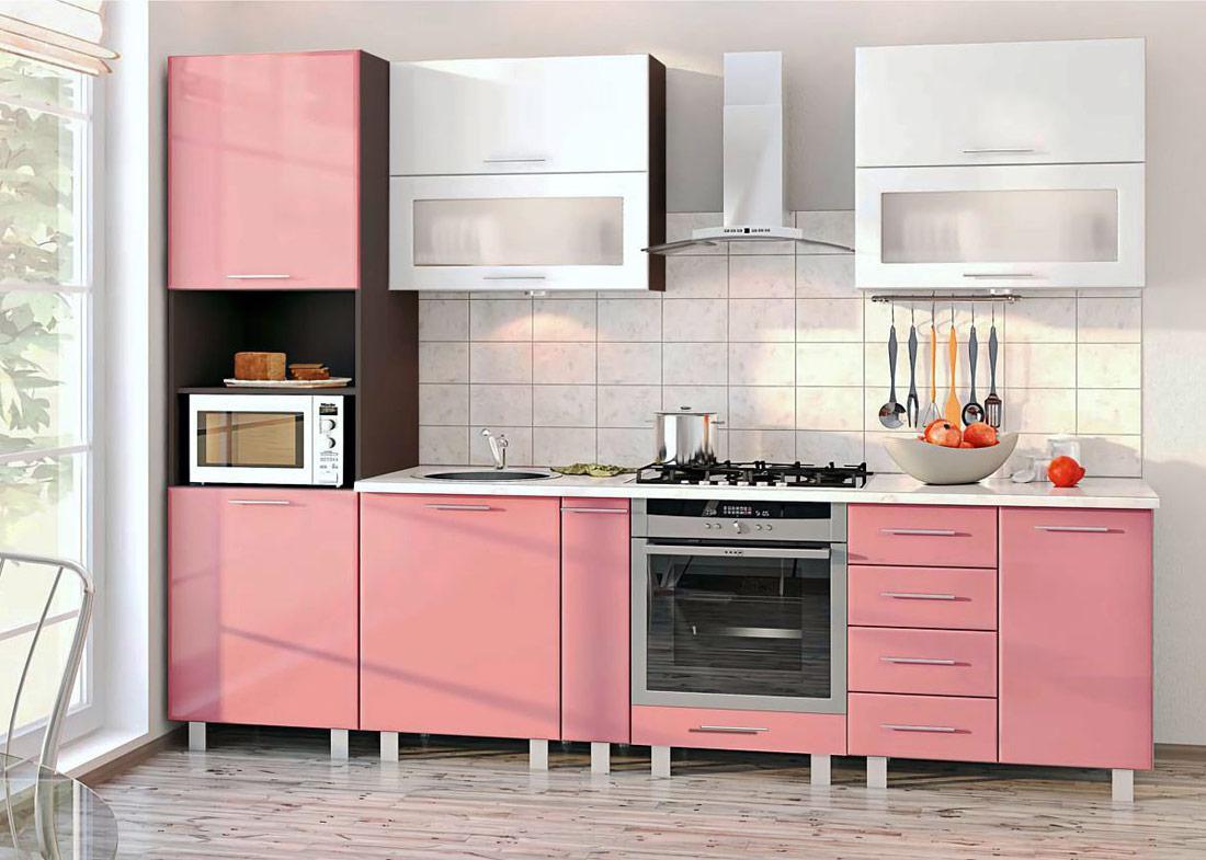 наша кухонный гарнитур розовый фото прогу вместе ней