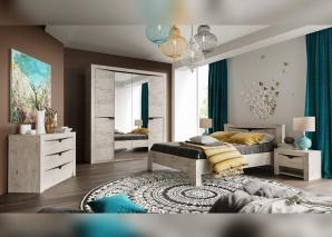 Спальня Соренто дуб бонифаций
