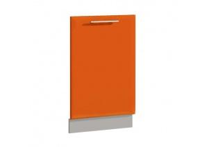 Фасад для ПММ 45 см Комфорт оранжевый
