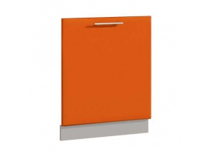Фасад для ПММ 60 см Комфорт оранжевый