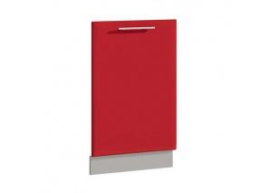 Фасад для ПММ 45 см Комфорт красный