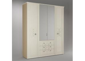 Шкаф 4-х дверный Капелла N-24