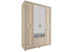 Шкаф 4-х дверный Калипсо туя N-24