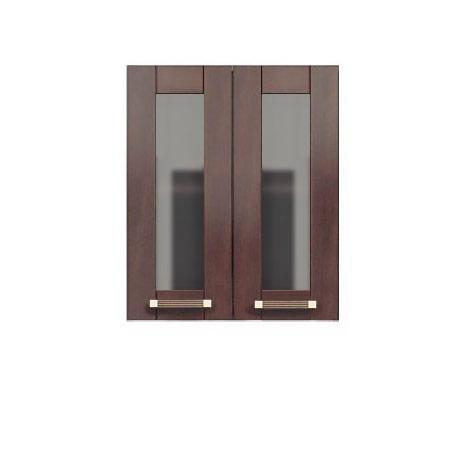 Двухдверный шкаф-витрина 600 Катрин шейкер