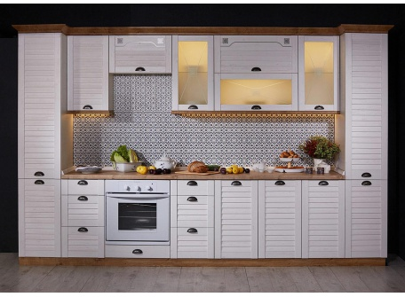 Кухня Кантри общий вид