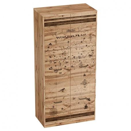 Шкаф 2-х дверный для одежды Фрегат