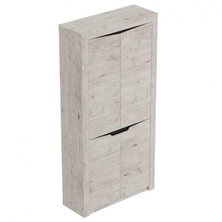 Шкаф двухдверный для прихожей Соренто дуб бонифаций