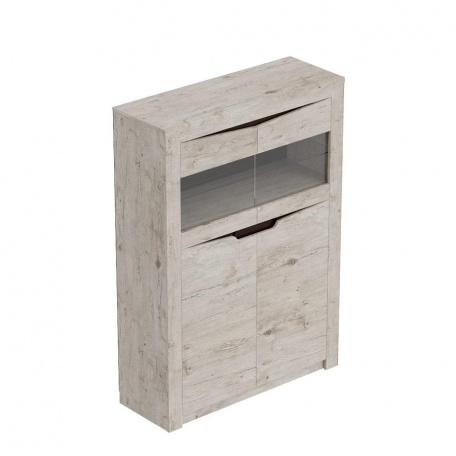 Низкий шкаф Соренто дуб бонифаций