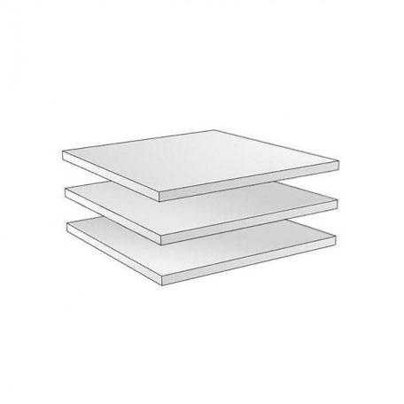Полки узкие  для трёхдверного шкафа Гарда