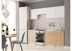 Кухня Адель (сонома/белый)