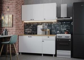 Кухня Деми 150 (белый)