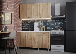 Кухня Деми 150 (дуб вотан)