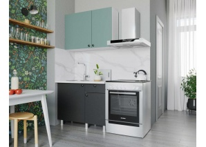 Кухня Деми 100 (графит)
