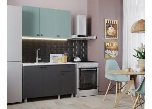 Кухня Деми 120 (графит)