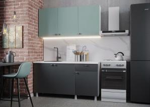 Кухня Деми 150 (графит)