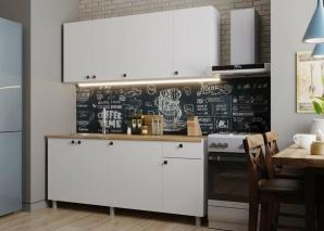 Кухня Деми белая