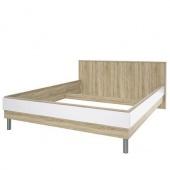 Кровать Ирма белый глянец