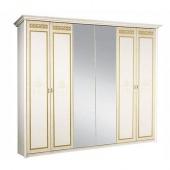 Шкаф 6-ти дверный Карина-3 бежевая