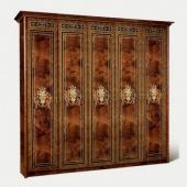 Шкаф 5-ти дверный Карина-3 орех