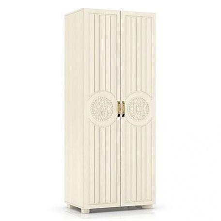 Шкаф двухдверный Монблан берёза